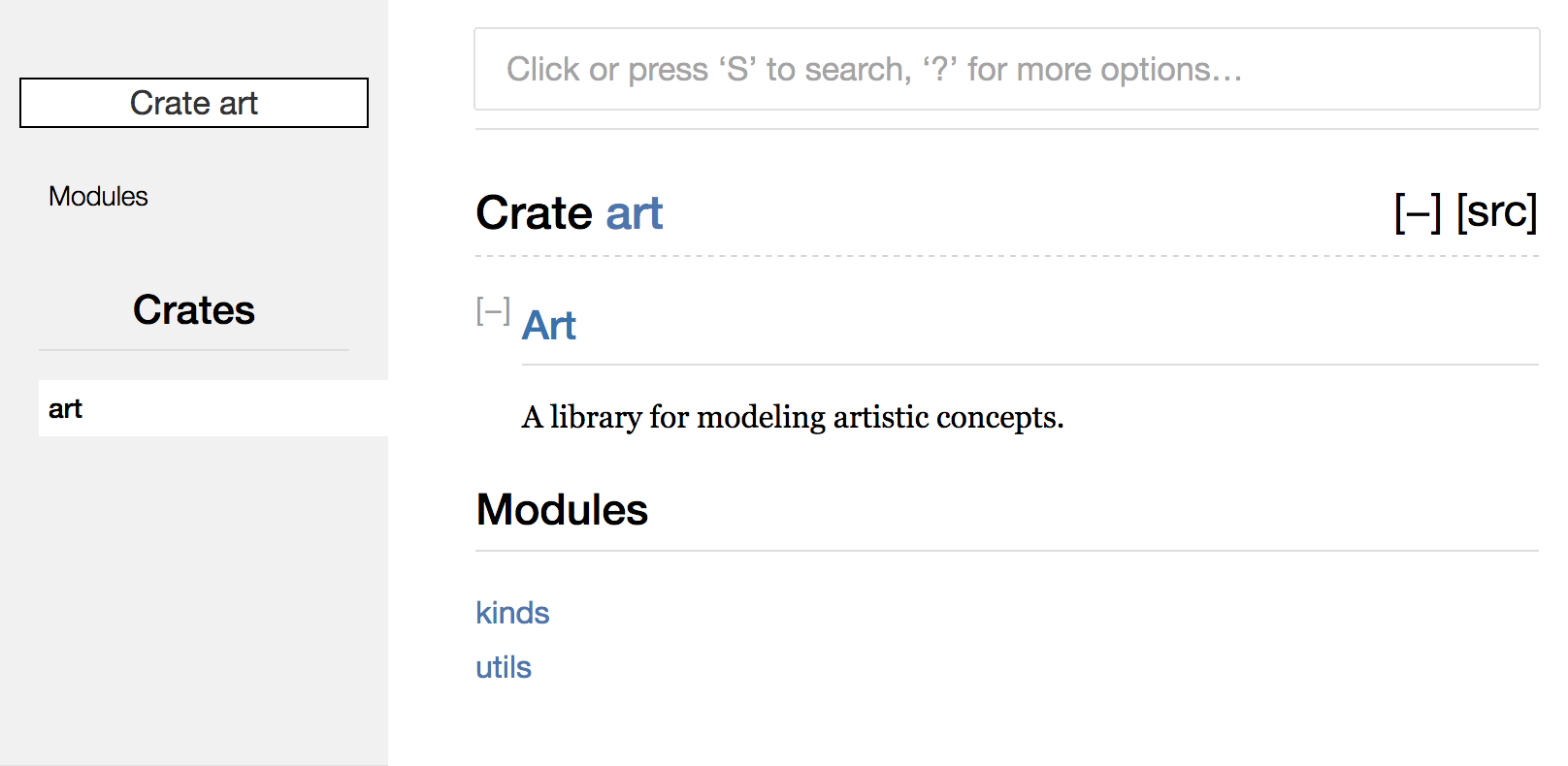 Rendered HTML documentation for the `add_one` function of `my_crate`